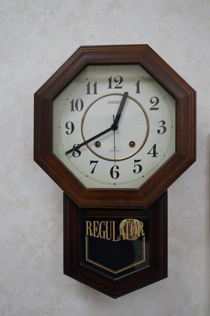 No.1160  CITIZEN (シチズン) 掛け時計を修理しました