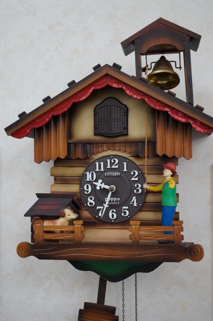 No.1159  リズム Poppo クォーツ式 からくり時計を修理しました
