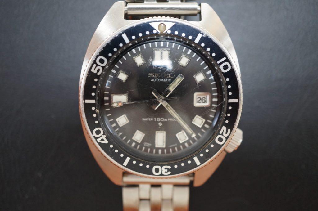 No.1158  SEIKO (セイコー) 6105 クォーツ式腕時計を修理しました