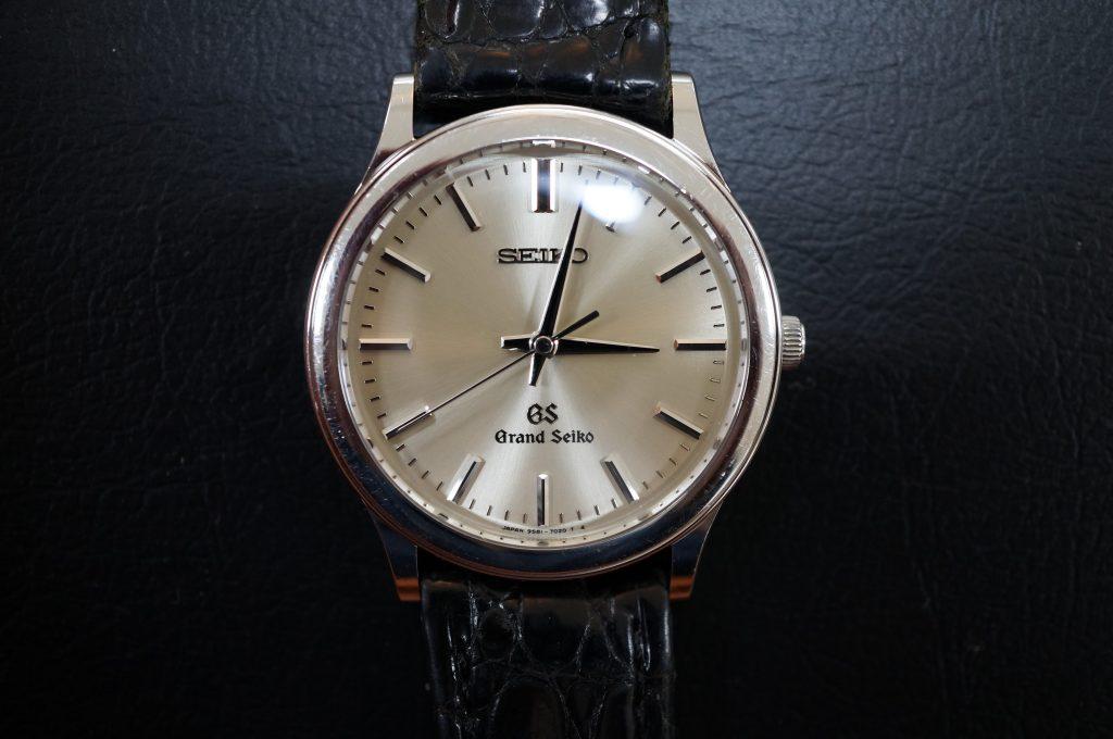 No.1155  SEIKO GS (グランドセイコー) クォーツ式腕時計を修理しました