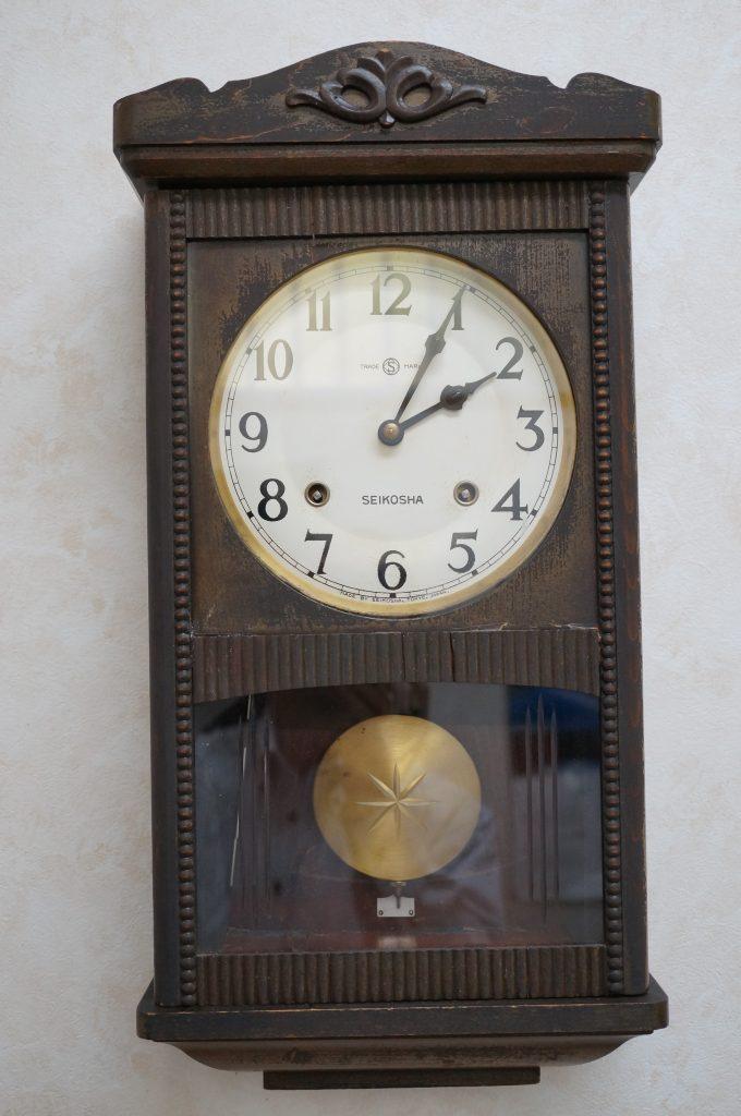 No.1174  SEIKO (セイコー)  ゼンマイ式 掛け時計を修理しました