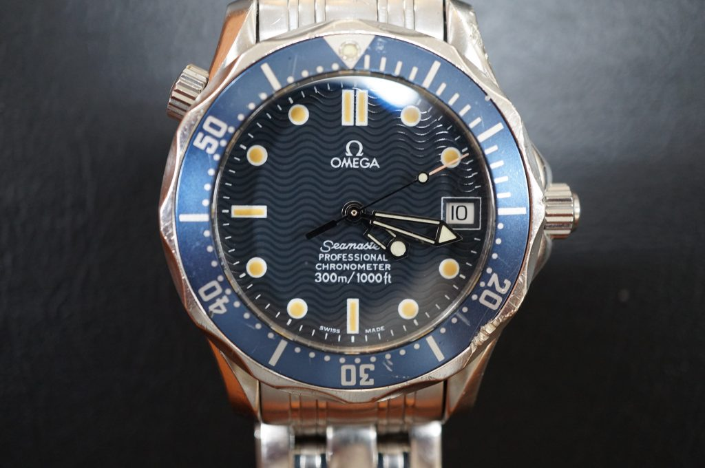 No.1177  OMEGA Seamaster (シーマスター) 自動巻き腕時計を修理しました
