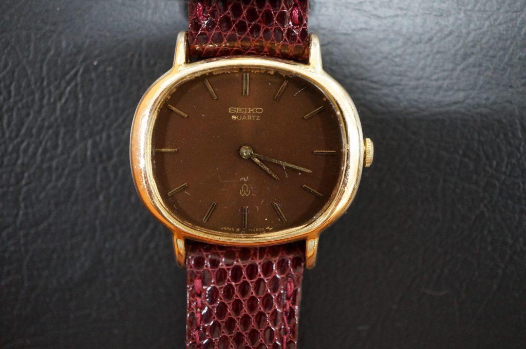 No.1190  SEIKO (セイコー) クォーツ式腕時計を修理しました