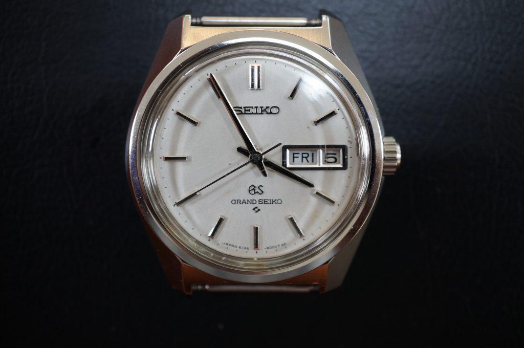 No.1195  SEIKO GS (グランドセイコー) 自動巻き腕時計を修理しました