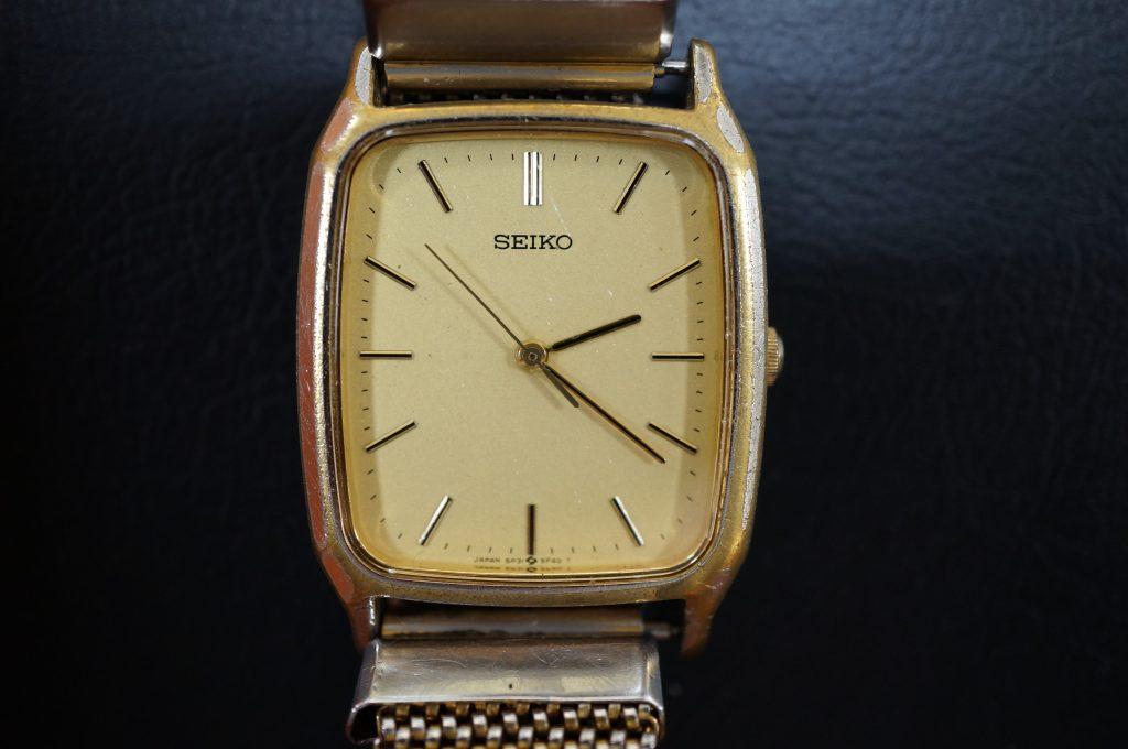 No.1180  SEIKO (セイコー) クォーツ式腕時計を修理しました