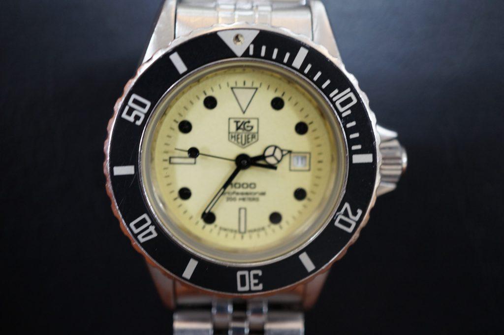 No.1175  TAG HEUER (タグホイヤー) クォーツ式 腕時計を修理しました