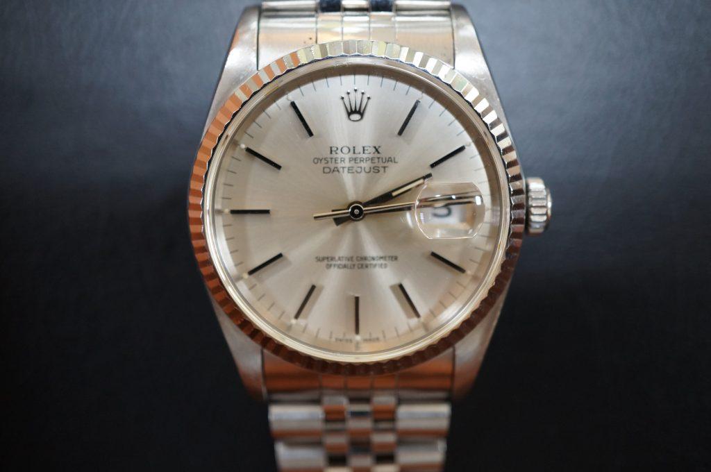 No.1176  ROLEX (ロレックス ) 自動巻き腕時計を修理しました