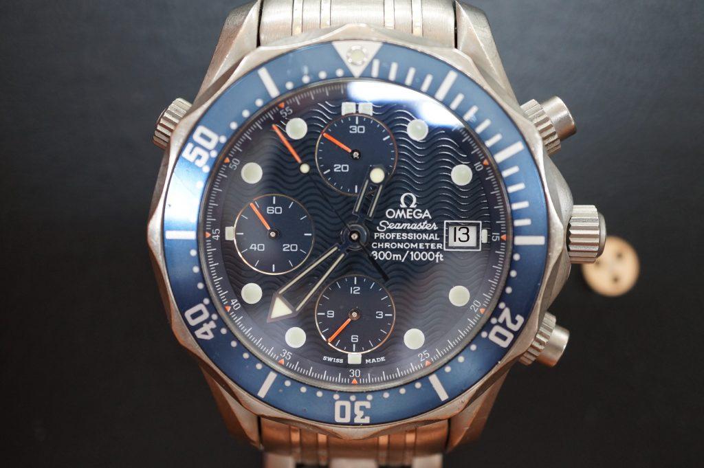 No.1192  OMEGA Speedmaster (オメガスピードマスター) 自動巻き腕時計を修理しました