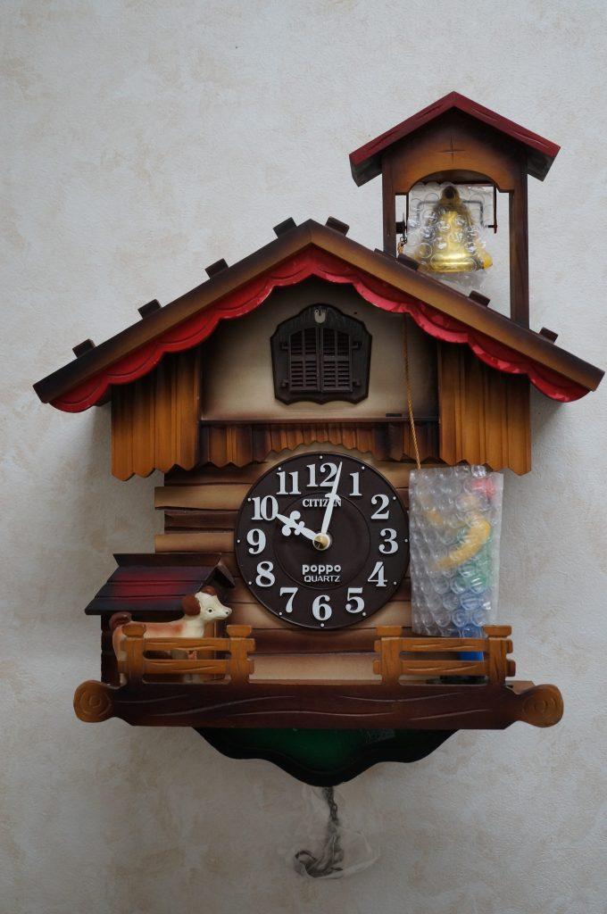 No.1236  SEIKO  BiRDIE(セイコー) クォーツ式 鳩腕時計を修理しました