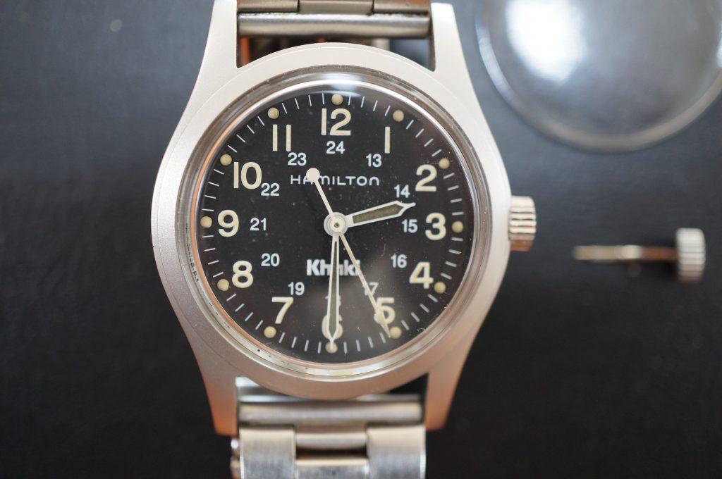 No.1237  HAMILTON (ハミルトン) 手巻式 腕時計を修理しました