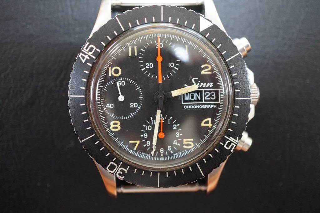 No.1238  Sinn (シン) 自動巻き 腕時計を修理しました