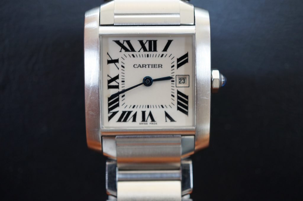 No.1240  CARTER (カルティエ ) 自動巻き腕時計を修理しました