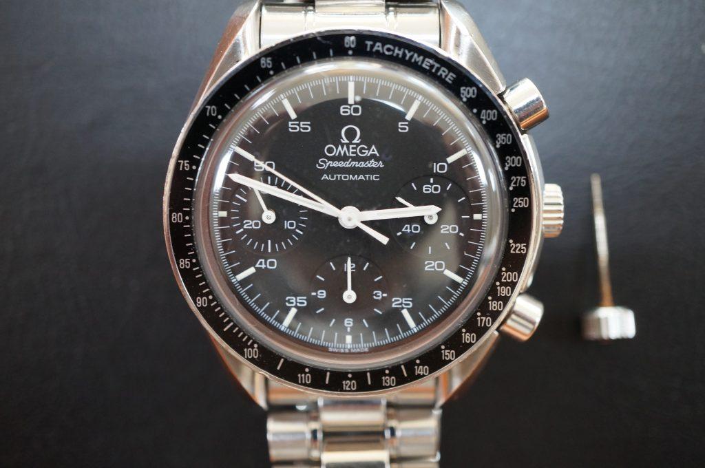 No.1238  OMEGA Speedmaster (オメガスピードマスター) 自動巻き腕時計を修理しました