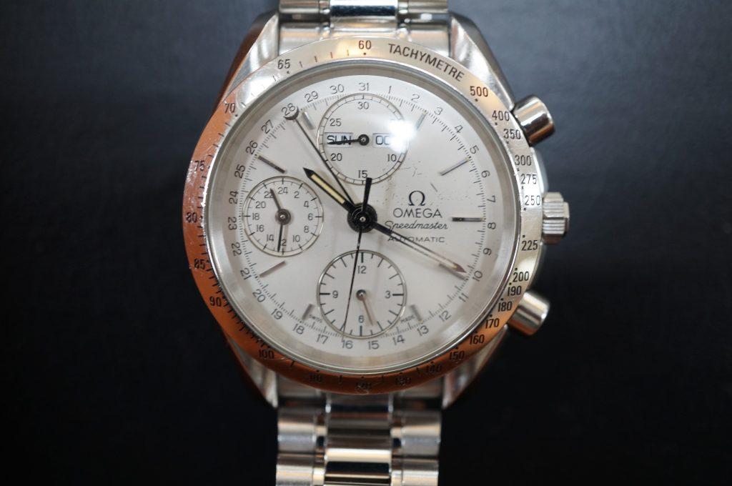 No.1237  OMEGA Speedmaster (オメガスピードマスター) 自動巻き腕時計を修理しました