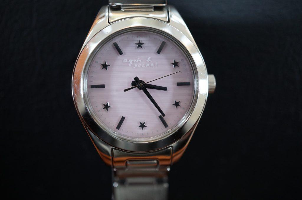 No.1232  SEIKO anies b (アニエスベー) ソーラー腕時計を修理しました