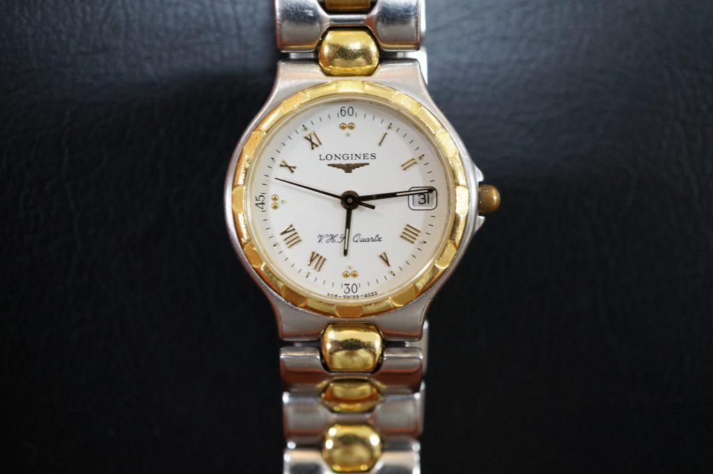No.1230  LONGINES (ロンジン) クォーツ式腕時計を修理しました