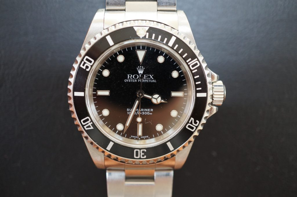 No.1220  ROLEX (ロレックス サブマリーナ ) 自動巻き腕時計を修理しました