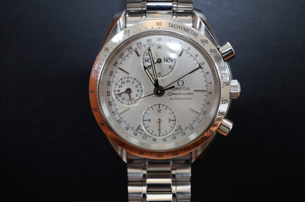 No.1218  OMEGA Speedmaster (オメガスピードマスター) 自動巻き腕時計を修理しました