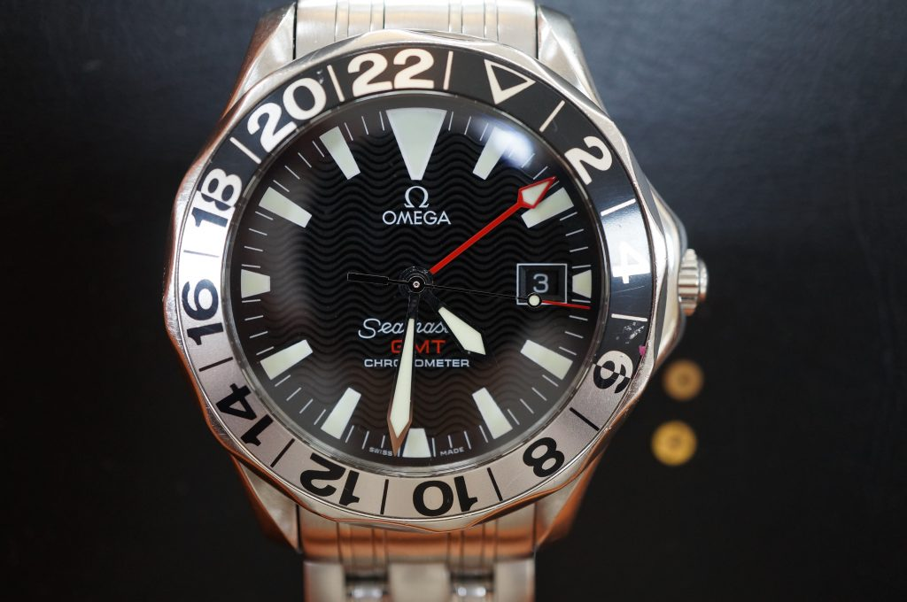 No.1219  OMEGA Seamaster (シーマスター) 自動巻き腕時計を修理しました