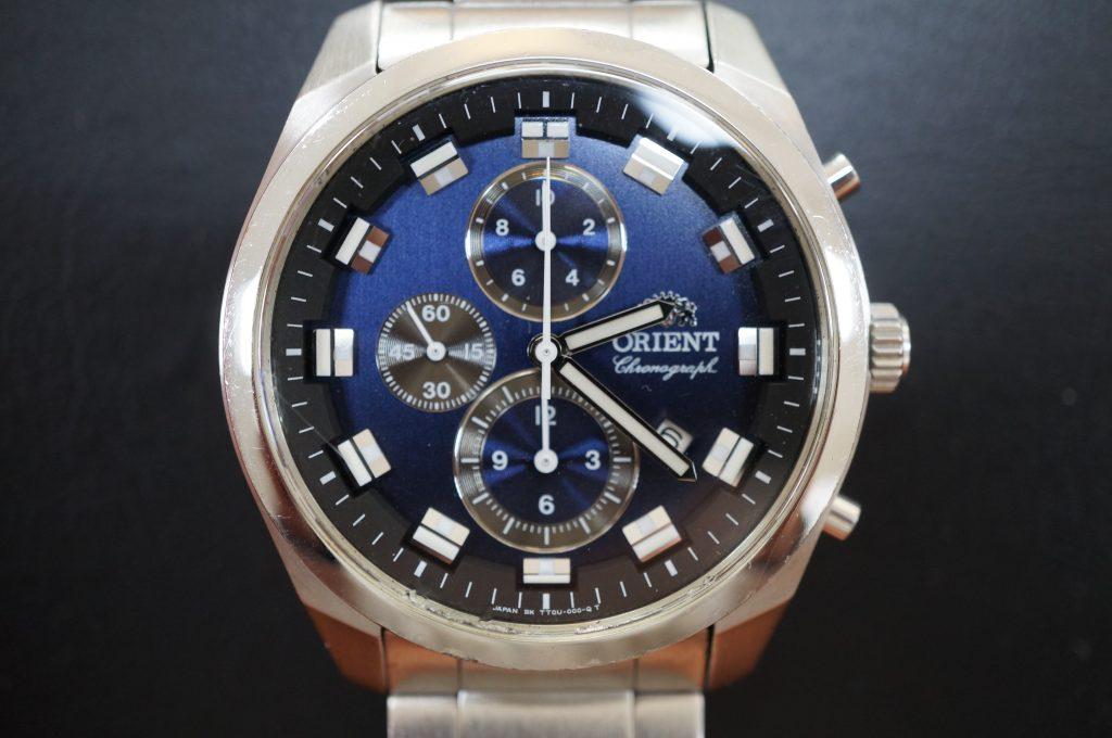 No.1216  ORIENT  (オリエント ) クォーツ式腕時計を修理しました