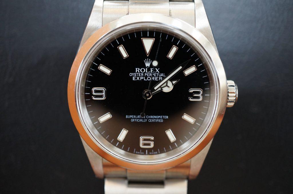 No.1199  ROLEX (ロレックス エクスクローラ1) 自動巻き腕時計を修理しました