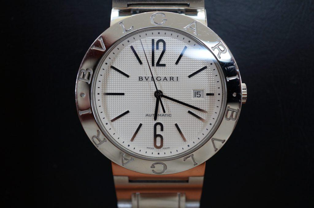 No.1198  BVLGARI (ブルガリ) 自動巻き腕時計を修理しました