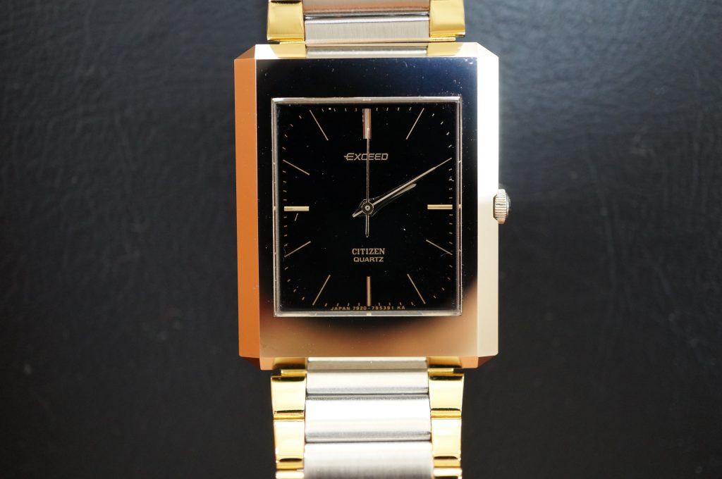 No.1210  CITIZEN EXCEED (シチズン エクシード) クォーツ式腕時計を修理しました