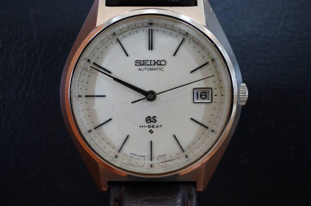 No.1200  SEIKO GS (グランドセイコー) 自動巻き腕時計を修理しました