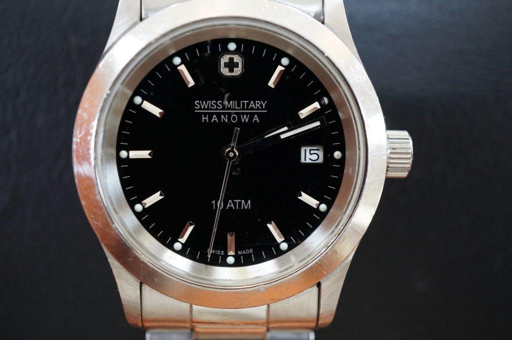 No.1196  SWISS MILITARY (スイスミリタリー) クォーツ式腕時計を修理しました