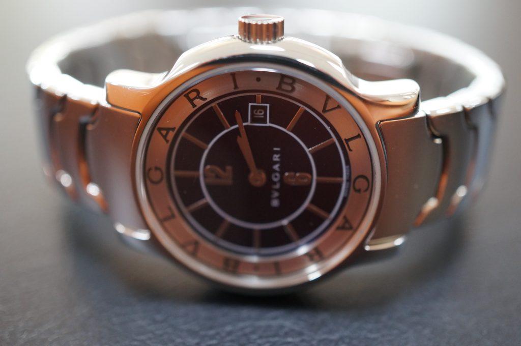 No.1197  BVLGARI (ブルガリ) 自動巻き腕時計を修理しました