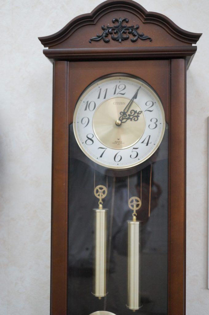 No.1235  CITIZEN  (シチズン ) クォーツ式 掛け時計を修理しました