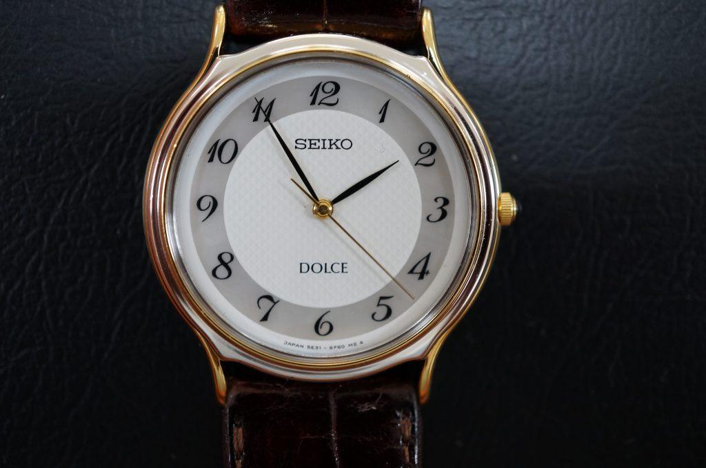 No.1236  SEIKO DOLCE (セイコー ドルチェ) クォーツ式腕時計を修理しました