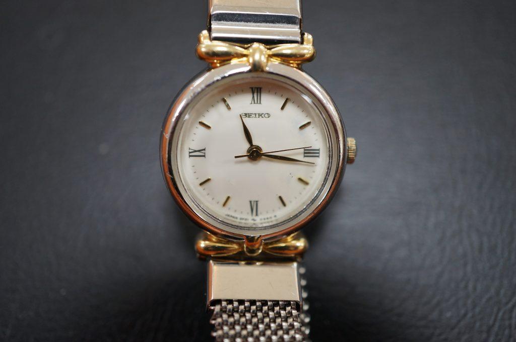 No.1254  SEIKO  (セイコー ) クォーツ式腕時計を修理しました