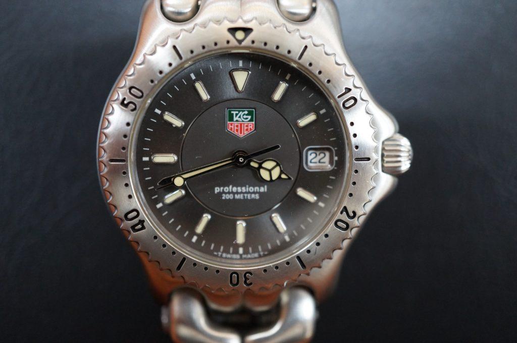 No.1255  TAG HEUER (タグホイヤー) クォーツ式 腕時計を修理しました