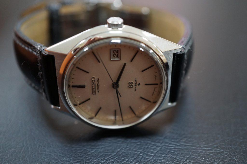 No.1252  SEIKO GS (グランドセイコー) 自動巻き腕時計を修理しました