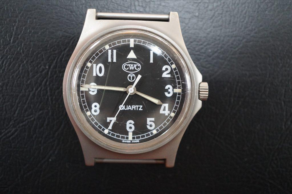 No.1253  CWC クォーツ式腕時計を修理しました