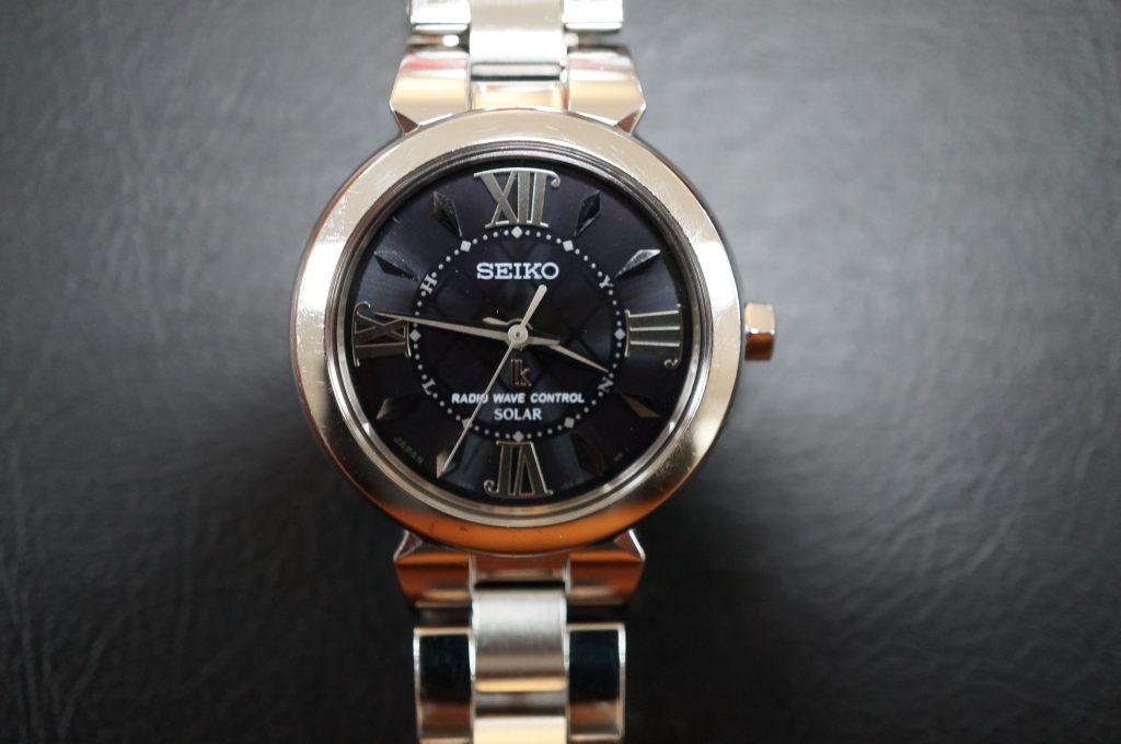 No.1250  SEIKO (セイコー) ソーラー電波腕時計を修理しました