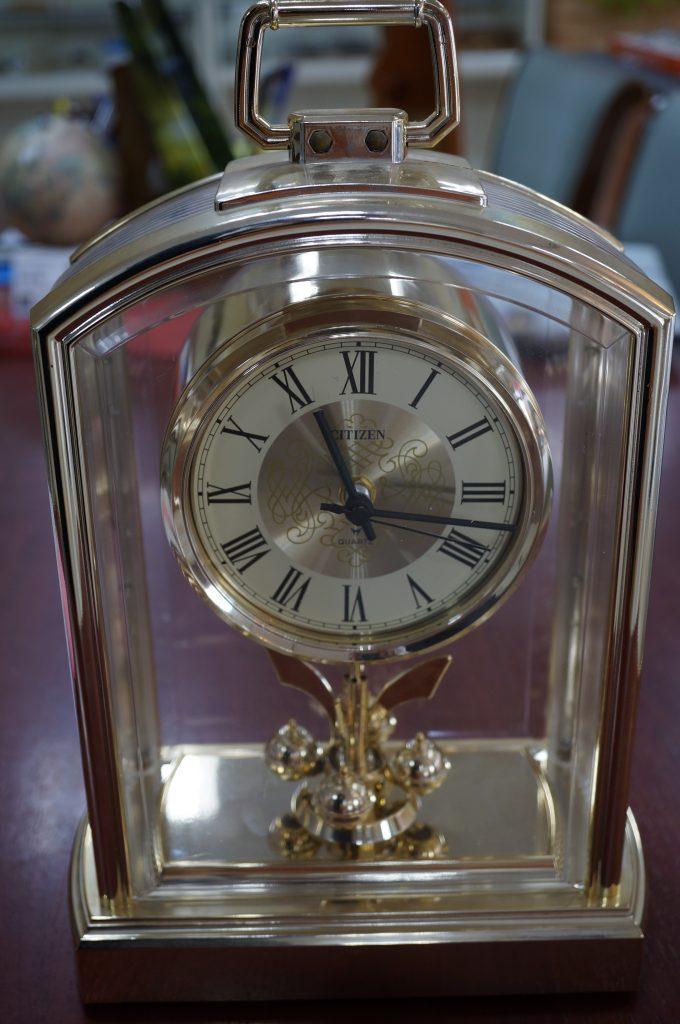 No.1271  CITIZEN  (シチズン ) クォーツ式 置時計を修理しました