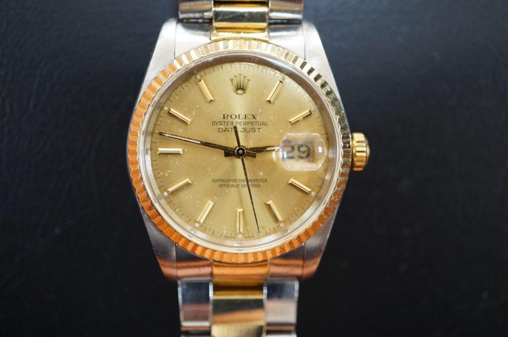 No.1260  ROLEX (ロレックス ) 自動巻き腕時計を修理しました