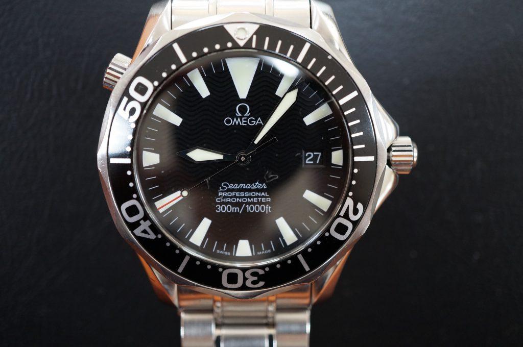 No.1259  OMEGA Seamaster (シーマスター) 自動巻き腕時計を修理しました