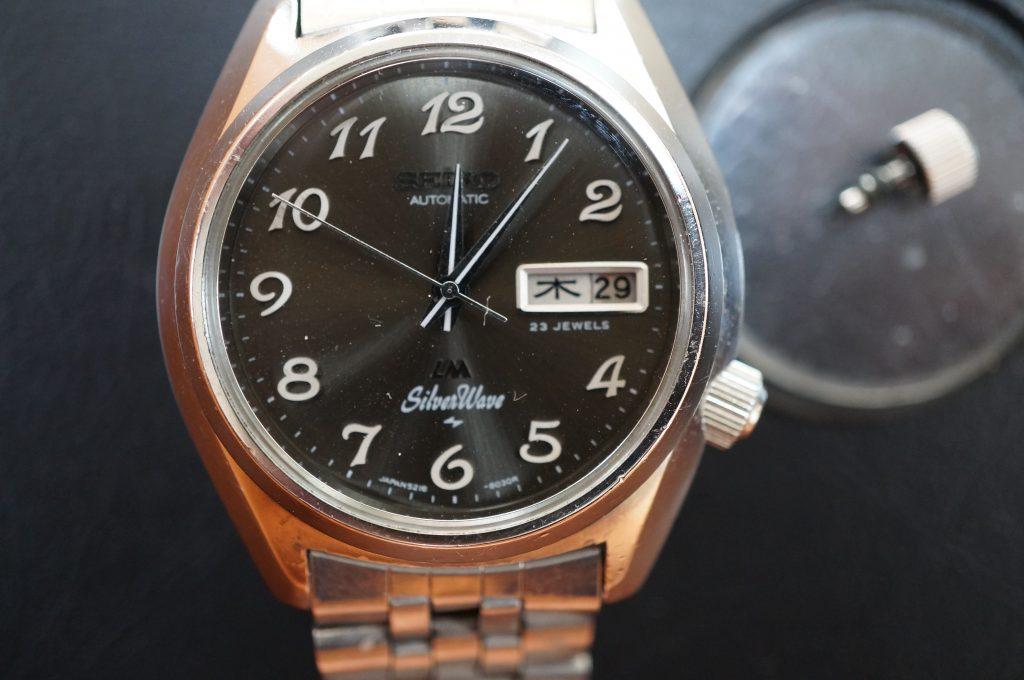 No.1258  SEIKO  (セイコー) 自動巻き腕時計を修理しました
