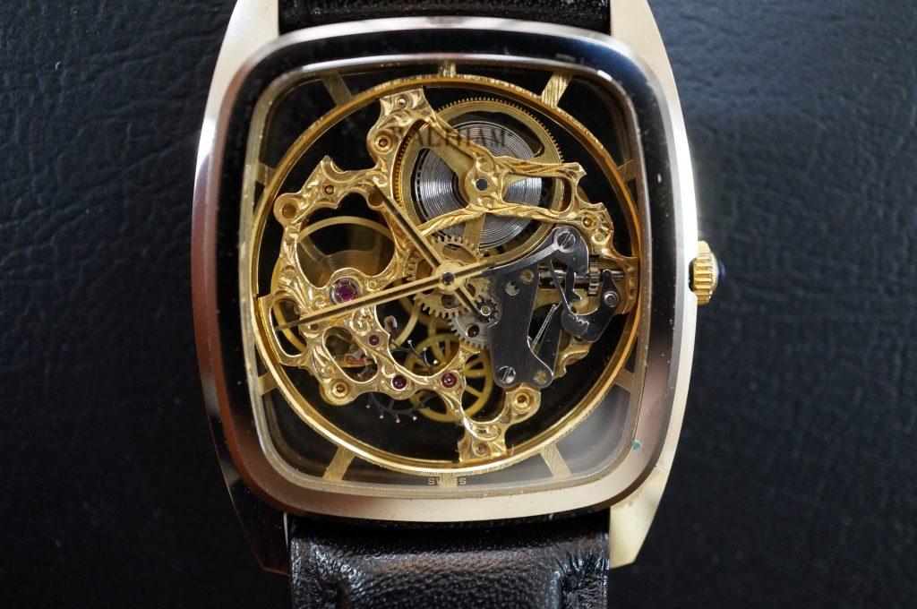 No.1324  WALTHAM (ウォルサム) 自動巻き腕時計を修理しました