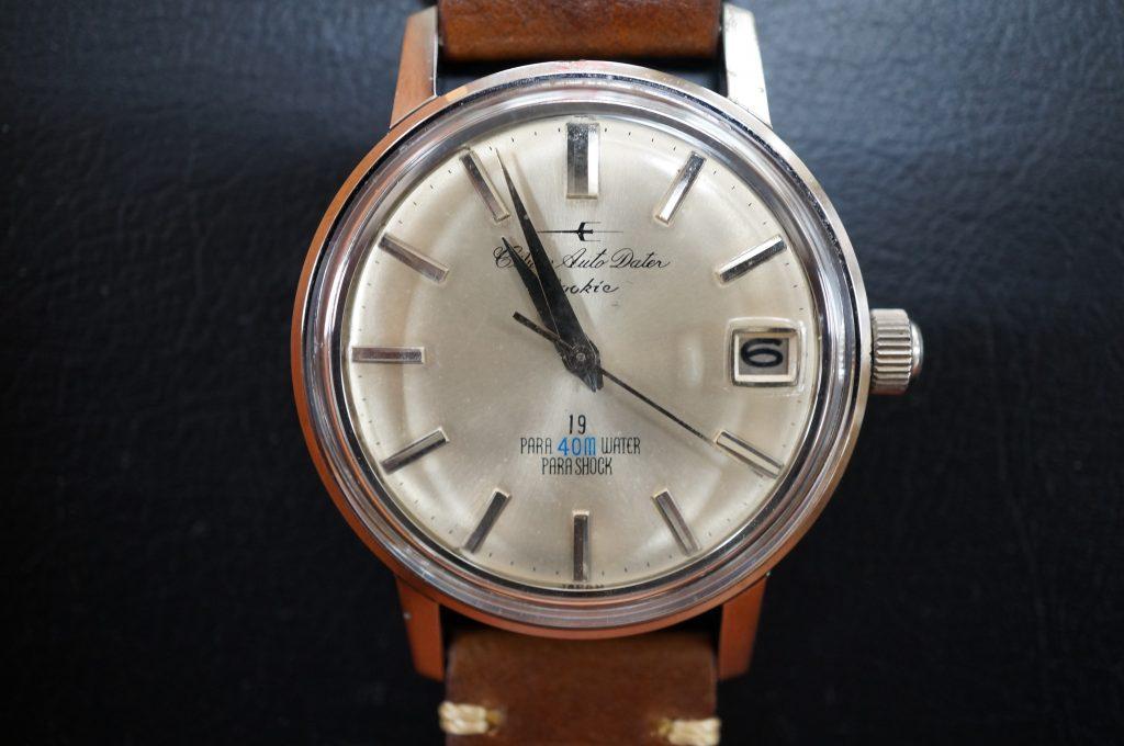 No.1325  CITIZEN Auto Dater (シチズン) 手巻き式腕時計を修理しました