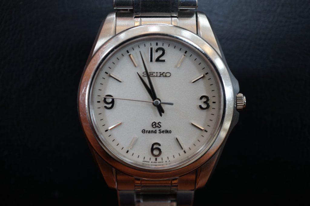 No.1323  SEIKO GS (グランドセイコー) 自動巻き腕時計を修理しました