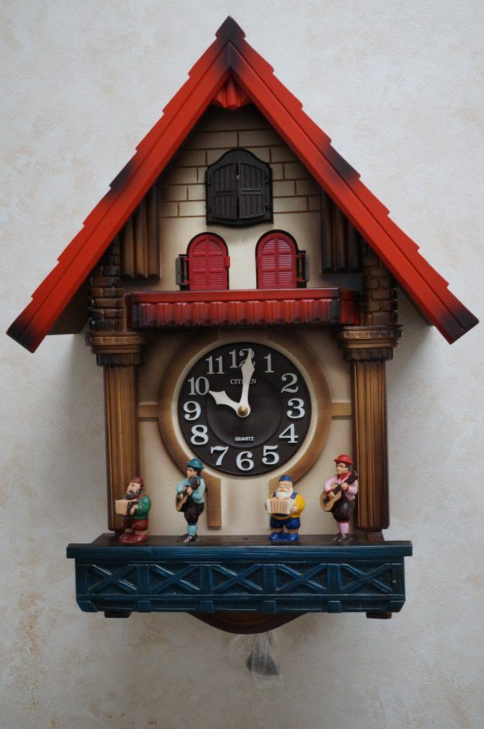 No.1321  CITIZEN  (シチズン ) クォーツ式 掛け時計を修理しました