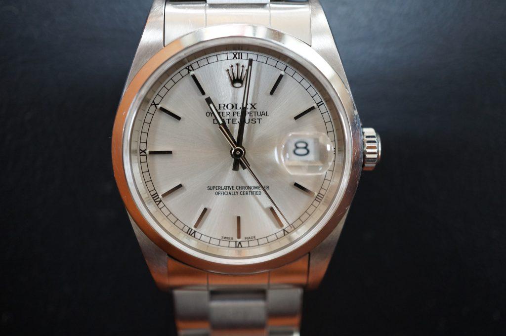 No.1322  ROLEX (ロレックス ) 自動巻き腕時計を修理しました