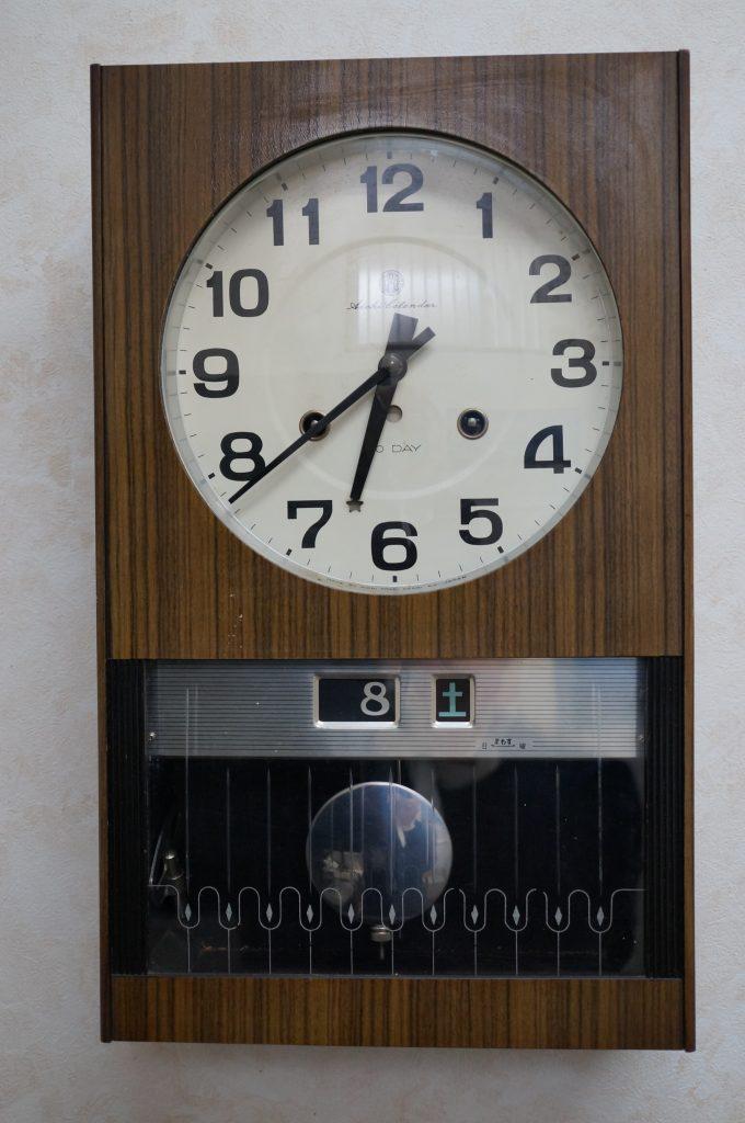 No.1319  SEIKO (セイコー)  ゼンマイ式 掛け時計を修理しました