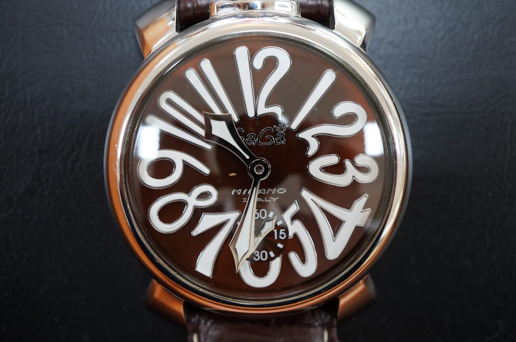 No.1314  GaGA MIRANO (ガガミラノ) 手巻き式腕時計を修理しました