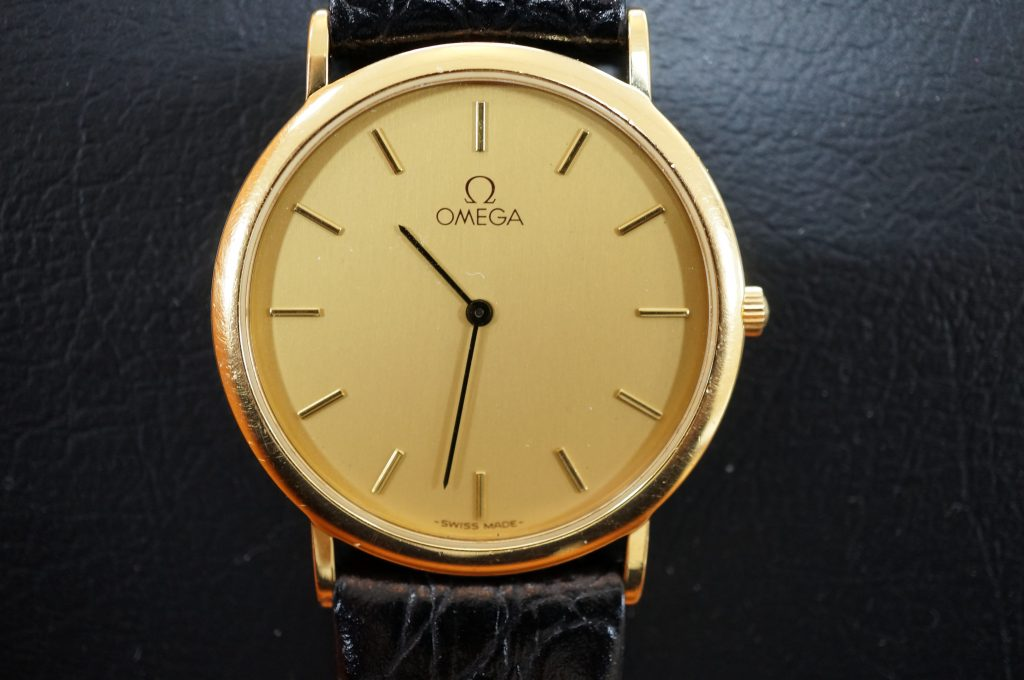 No.1313  OMEGA (オメガ) クォーツ式腕時計を修理しました