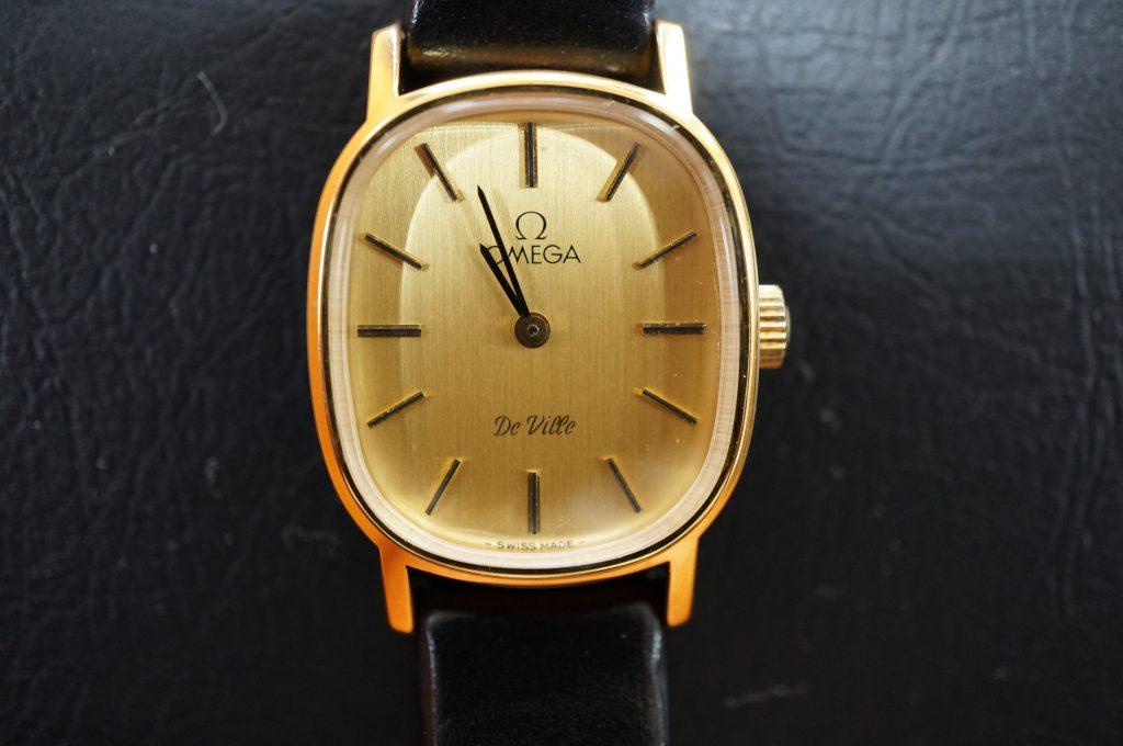 No.1312  OMEGA Devill (デ・ビル) 手巻き式腕時計を修理しました